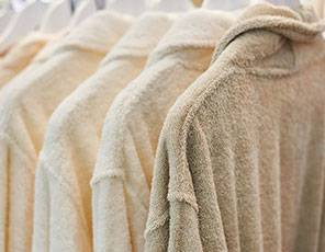 Bathrobe Cleaning